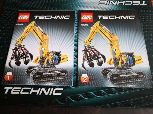 LEGO Technic Technik BAUANLEITUNG für 42006 Raupenbagger NEU
