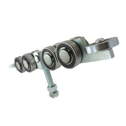 """2/"""" Standard Bearing 8-Wheel Truck Assembly for Cantilever Gates 2/"""" Guide Wheels"""