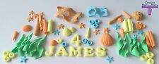 Sea Ocean Edible Cake Topper Star Fish Reeds Octonauts Little Mermaid Theme