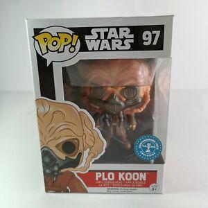 PLO KOON 97 POP funko vinyl star wars underground toys exclusive