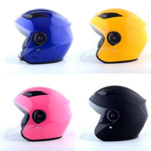 Motorradhelm-Rollerhelm-Jethelm-Farrad-Helm-MOTORRAD-HELME-Halbschale-HELMET