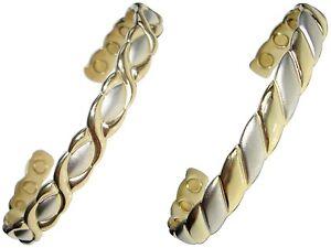 Damen Oder Herren Magnetisch Armband Damen Kupfer Armreif Armband - Neu