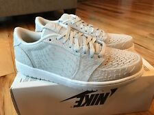 3819f82ed83737 item 1 Nike Air Jordan 1 Retro Low NS Off White Python Swooshless  872782-111 Size 11.5 -Nike Air Jordan 1 Retro Low NS Off White Python  Swooshless ...