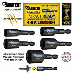 Sabrecut-Nut-Driver-Hex-Head-Impact-Nut-Runners-Socket-Driver-Various-Sizes
