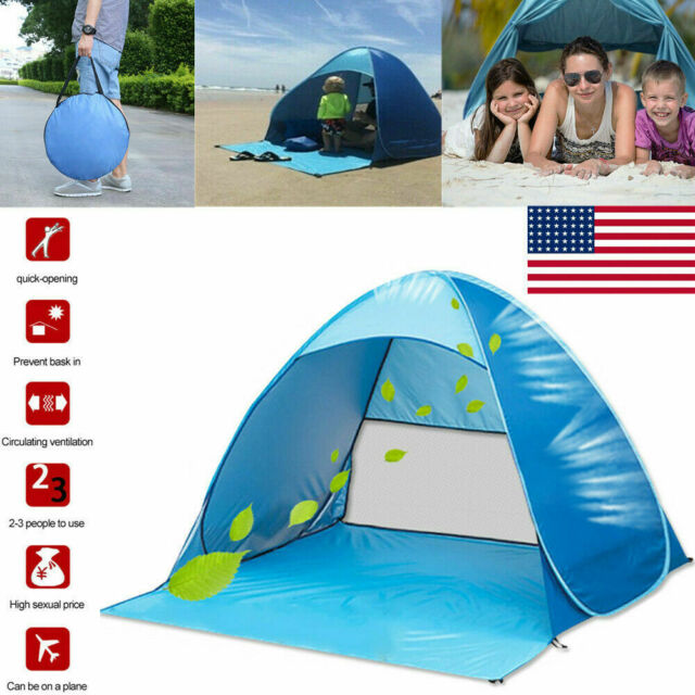 Baby Tent Beach Pop Up Portable Sun Uv Pool Shelter Shade Travel Protection Kids