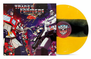 TRANSFORMERS-CLASSIC-SOUNDTRACK-VINYL-RECORD-BumbleBee-Variant-Animation-80s