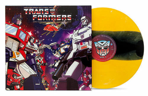 TRANSFORMERS CLASSIC SOUNDTRACK VINYL LP BumbleBee Variant #SciFi #Music #Record