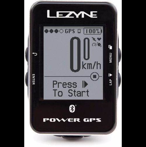 Lezyne Power GPS Bike Cycling Computer