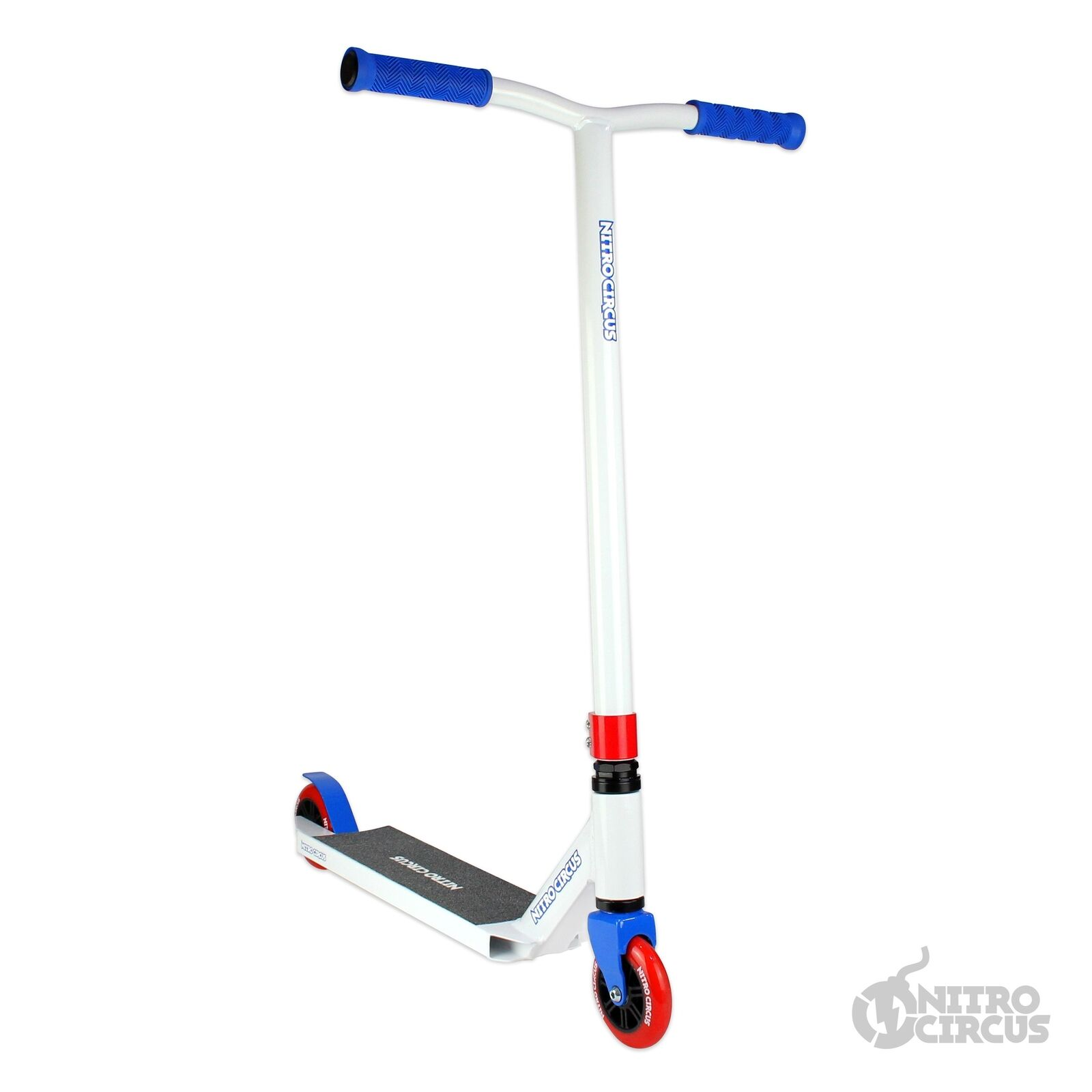 NITRO Circus CX2  Completo Scooter-blancoo Azul Rojo  buena reputación