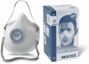 MOLDEX 2555 Classic FFP3 NR D Atemschutzmaske Mundschutz Feinstaub Partikemaske