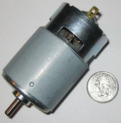 95 Watt Electric 12 VDC Motor 775 Frame Size Robot High Speed DC 15,000 RPM