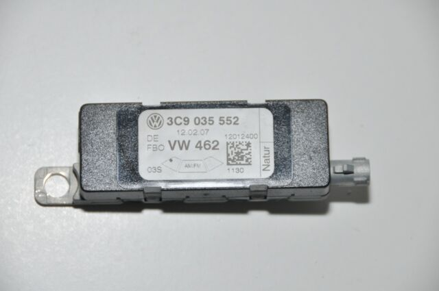 original VW PASSAT 3c Variante Amplificador de antena DERECHO Diversity