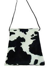 US HANDMADE PASSPORT COVER BAG ANIMAL PRINT COW WESTERN PATTERN , NEW,