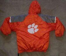 vtg 90s starter CLEMSON tigers NCAA pullover JACKET coat L large XL football men