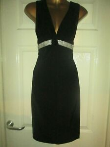 Black-Evening-Cocktail-Dress-by-Heine-Size-8-RRP-85