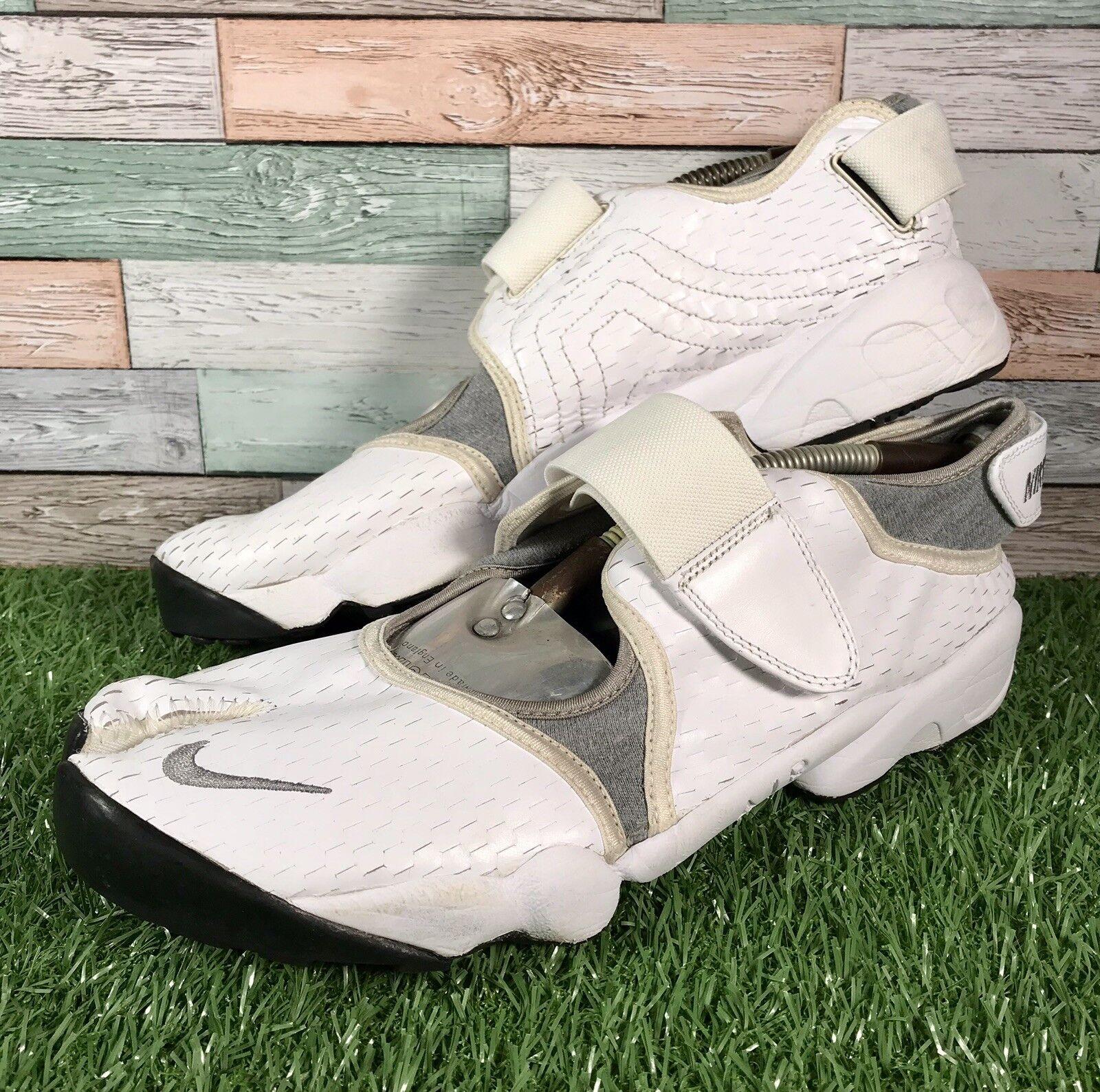 Nike Air Gris Gris Gris Blanc Air Rift split orteil baskets