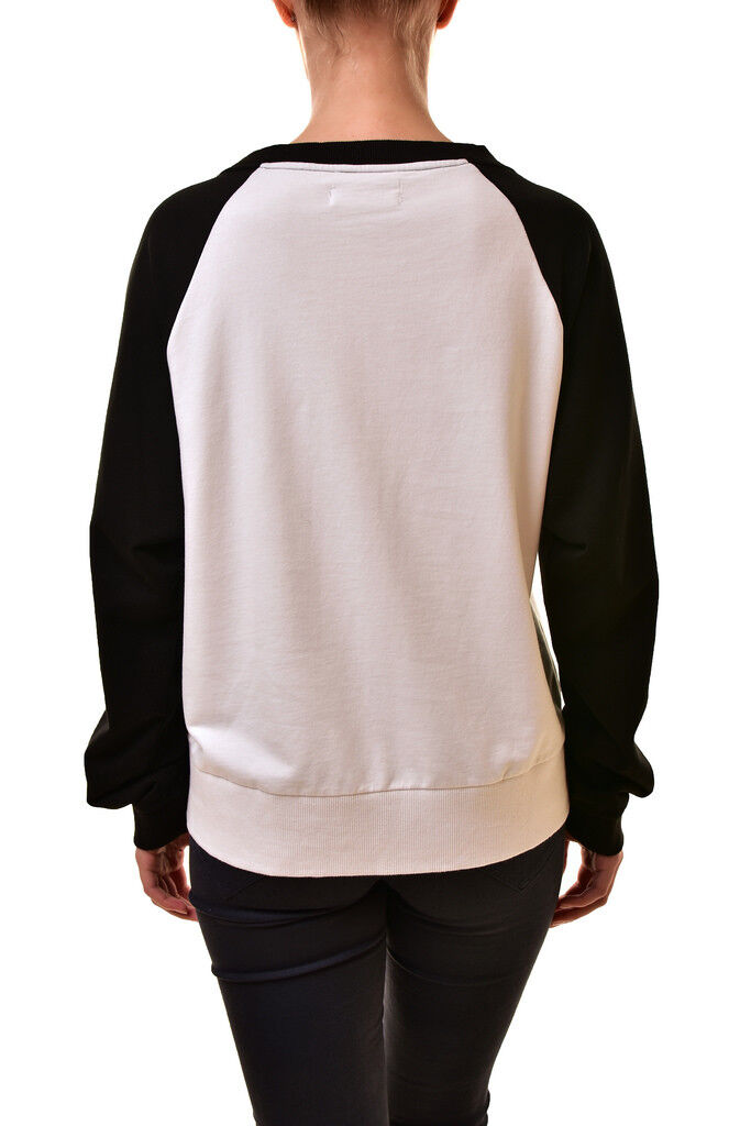 One Teaspoon Teaspoon Teaspoon Womens 18772 Surf Punk Sweatshirt White Size S RRP  150 BCF811 6bf6a0