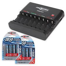 ANSMANN Battery charger Powerline 8 + 8pcs AA Batteries 2850mAh