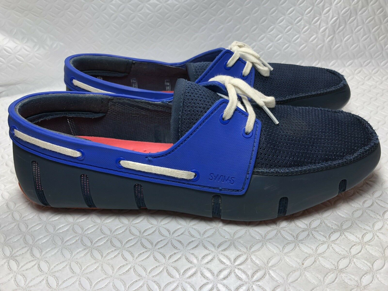 Swims Breeze Leap Lazer Men's bluee Boat shoes Loafers Size-7