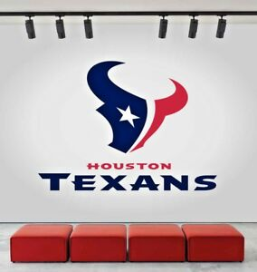 Image Is Loading Houston Texans Logo Wall Decal Sports Window Sticker