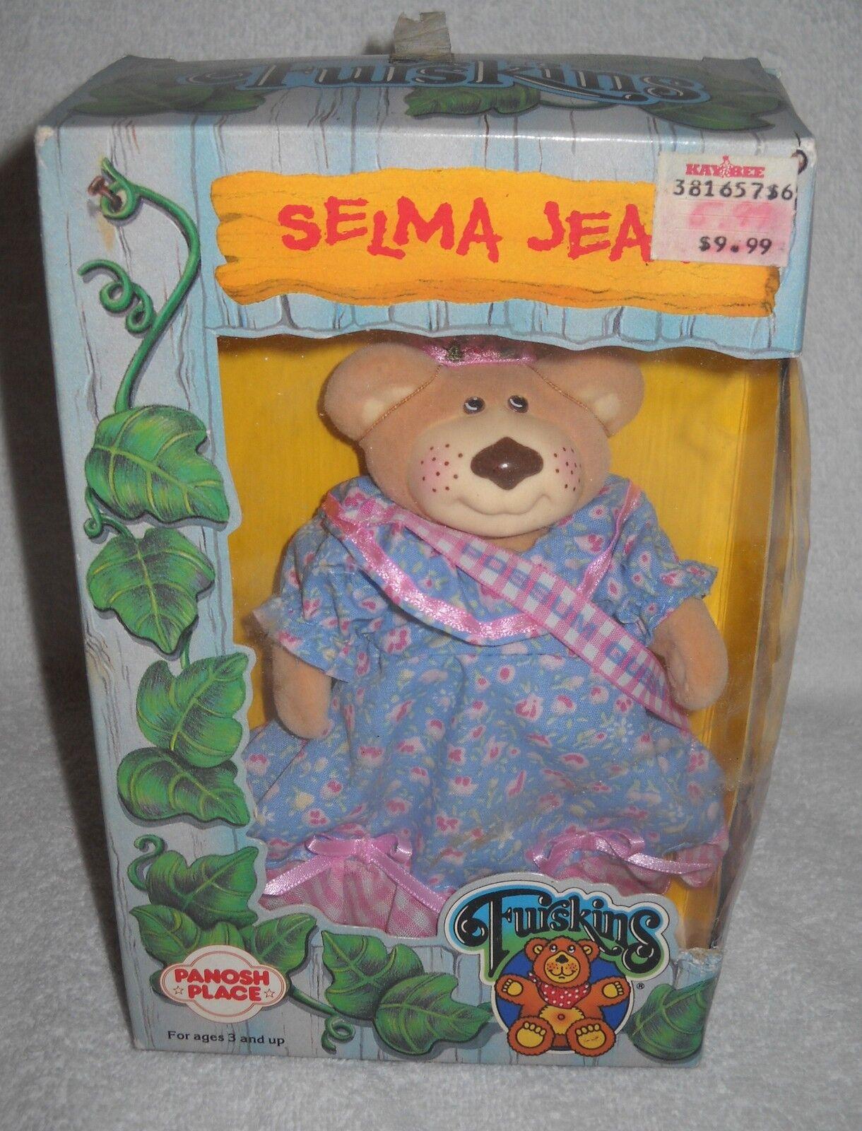 6063 NRFB Vintage Panosh Place Furskins Selma Jean Bear