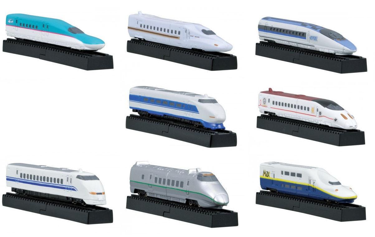 Choco Egg Shinkansen cifras, 8 8 8 pcs set [Furuta, 2012, modellolos] 2dc2fe