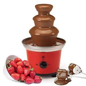 Global Gourmet cioccolato belga Fontana Fonduta Set | 500ml capacità elettrica |