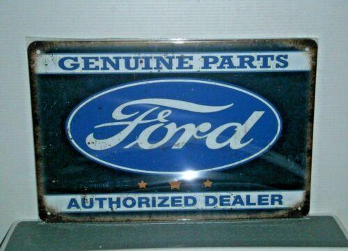 FGP2 Ford Genuine Parts Authorized Dealer Metal Sign New 30 cm W X 20 cm H
