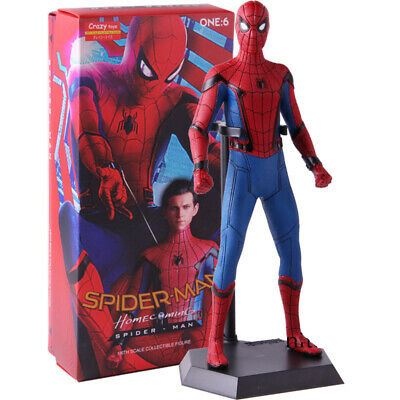Marvel figurine spider-man home coming back at home 14 cm