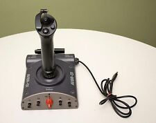 Saitek AV8R-01 USB Powered Joystick For Flight Simulator Dual Throttle