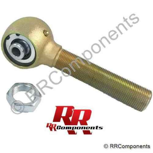 "RH 1-1//4/"" x 9//16 Bore x 5/"" Long Shaft /& Jam Nut Chromoly Rod Ends Heim Joints"