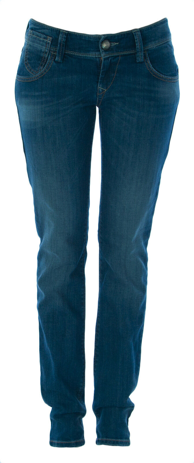 Fornarina Donna Wild West Forever Straight Leg Jeans Taglie 27 Nuovo
