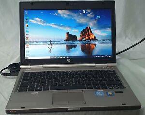 HP Elitebook 2560p i5-2410 2.30GHz 8GB RAM 160GB SSD