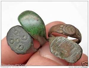 economico per lo sconto 284c4 59267 Dettagli su ANTICHI ANELLI ROMANI - ANTIQUE ROMAN RINGS ROMA IMPERIALE  200/450 D.C OLD RING