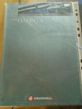 Vauxhall Omega range brochure 1999 models ed 1