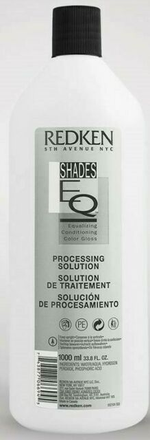 Redken Shades EQ Gloss Processing Solution 33.8oz/1000ml