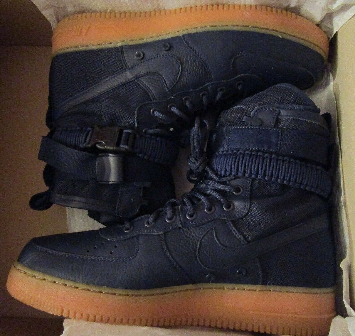 Nike Special Field Air Force One SF AF1 Midnight Navy size 10.5 864024 400 NEW