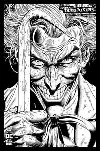 Batman-Three-Jokers-1-2020-DC-1-100-B-amp-W-Variant-Dark-Death-Metal-Superman