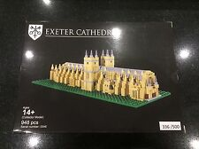 Limited Edition Lego Exeter Cathedral  Bright Bricks Certified Professional RARE