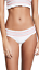 thumbnail 1 - Tory Burch NEW Swimwear Women's Medium White Costa Smocked Bikini Swim Bottom M