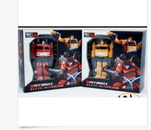 Papa/_Toys Transformers PPT02 Fire truck PPT03 crane Pocket series