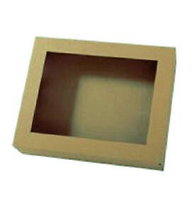 geschenkkarton 310 x 250 x 25 mm mit deckel und folienfenster geschenkschachtel ebay. Black Bedroom Furniture Sets. Home Design Ideas