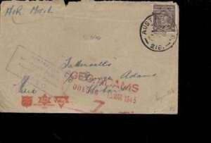 (50944) L'austral. Timbres Papouasie-nouvelle Guinée 2. Wk Cachet Censor 2750 Sans-afficher Le Titre D'origine Pratique Pour Cuire