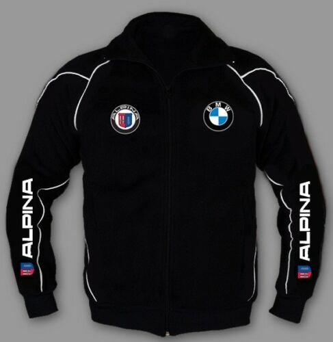 BMW ALPINA Jacket Sweatshirt EMBROIDERY Cotton blend m power Made in EUROPE S-6X