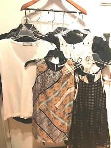 MOSCHINO-VINCE-JAMES-PERSE-amp-MORE-WOMENS-ASSORTED-LOT-OF-11-TOPS-SIZE-6-S