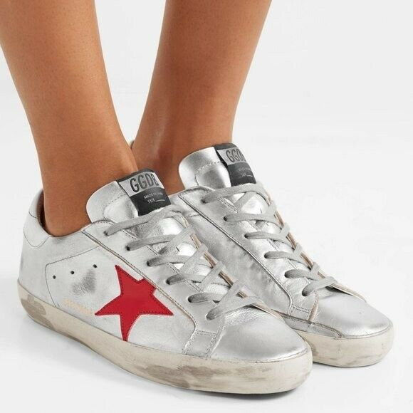 Golden Goose May Leather Sneaker 37