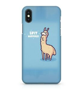 Spit-Happens-Funny-Alpaca-Llama-Pun-Joke-Cuddly-Furry-Animal-Phone-Case-Cover