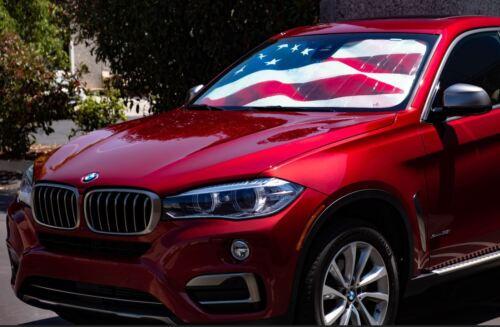 Driver Mods US Flag Custom Car Sun Shade For Chevrolet 2006-2011 HHR