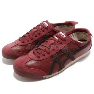 more photos 33943 52580 Details about Asics Onitsuka Tiger Mexico 66 Vin Russet Brown Coffee Men  Running D2J4L-2629