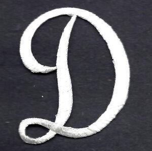 image is loading script letters white script letter 034 d 034